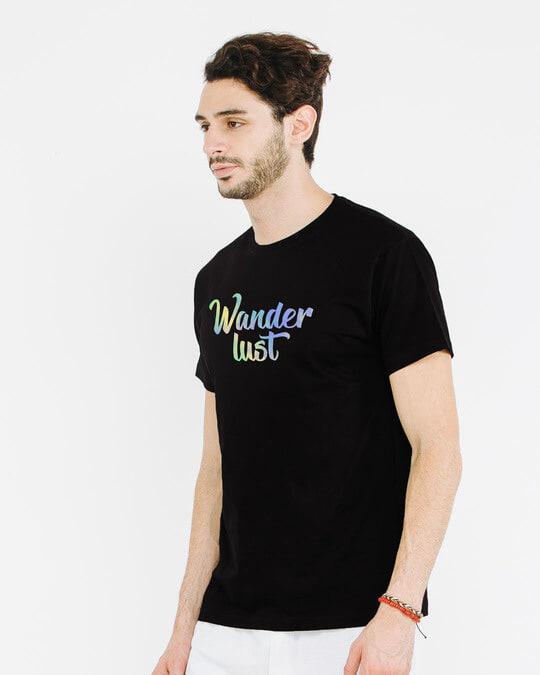 Shop Gradient Wanderlust Half Sleeve T-Shirt-Full