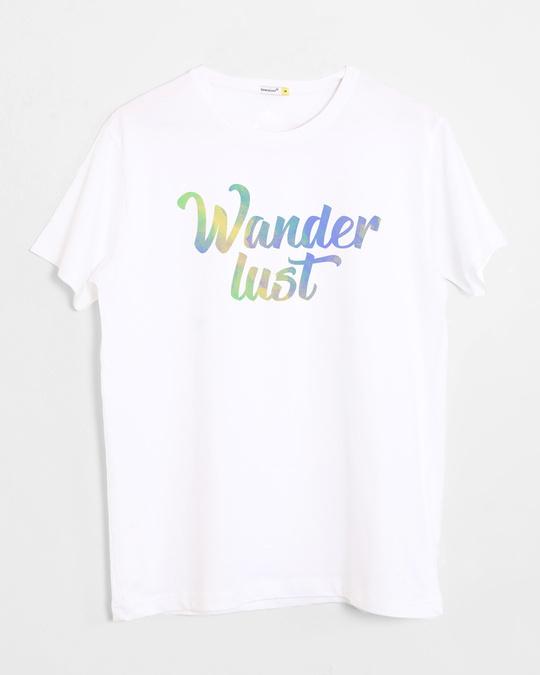 Shop Gradient Wanderlust Half Sleeve T-Shirt-Front