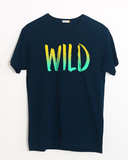 Shop Gradient Wild Half Sleeve T-Shirt-Front
