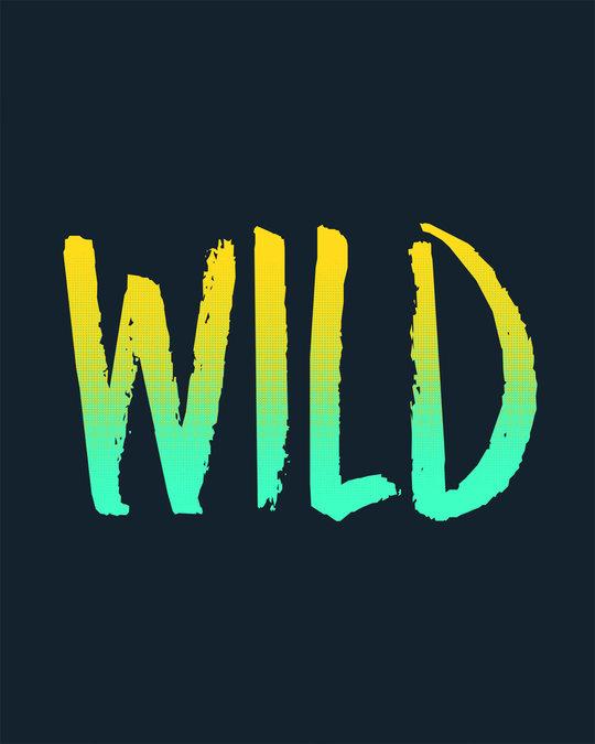 Shop Gradient Wild Half Sleeve T-Shirt
