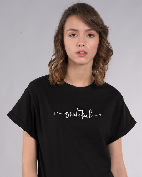 Shop Grateful Boyfriend T-Shirt-Front