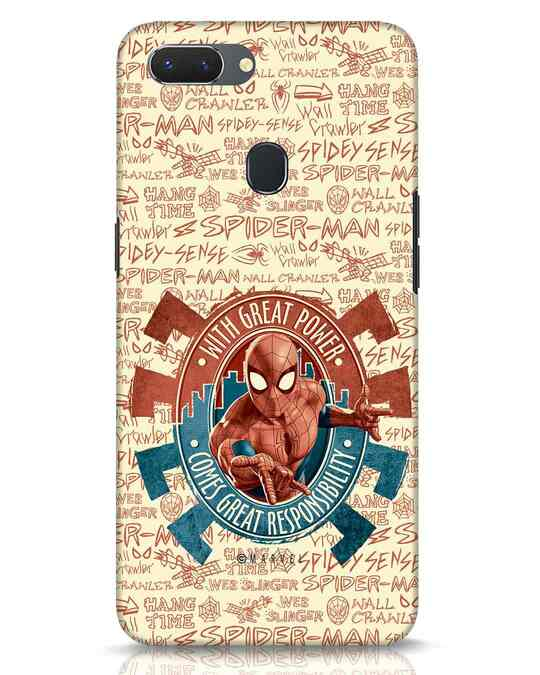 Shop Great Responsibility Realme 2 Mobile Cover (AVL)-Front