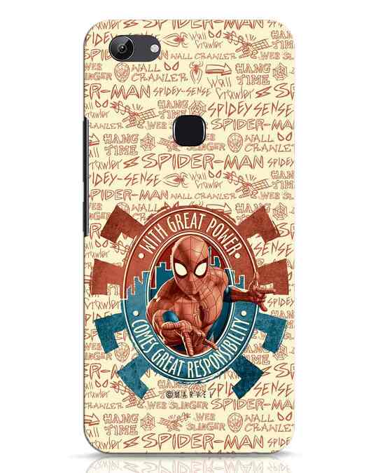 Shop Great Responsibility Vivo Y83 Mobile Cover (AVL)-Front