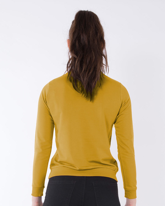 Shop Great Vibes Fleece Light Sweatshirt-Back