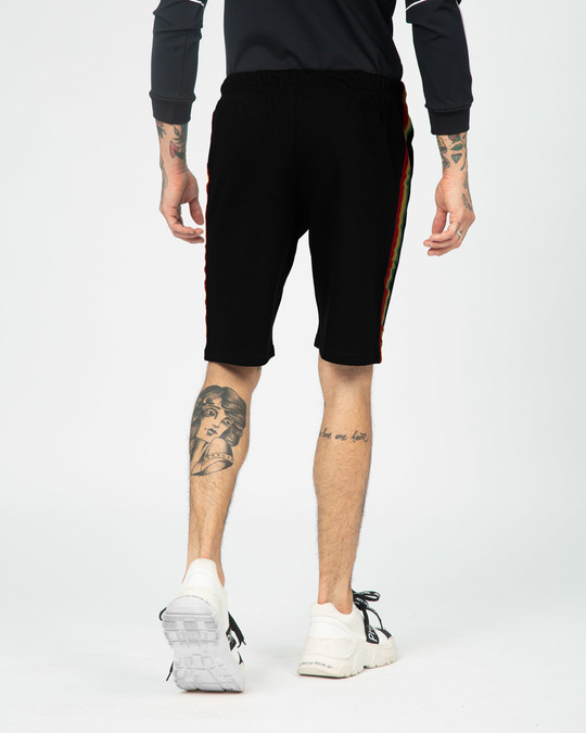 Shop Green Envy Sports Trim Shorts-Full