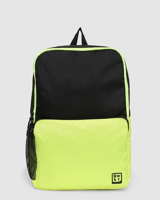 Shop Green Kick Laptop BackPack-Front