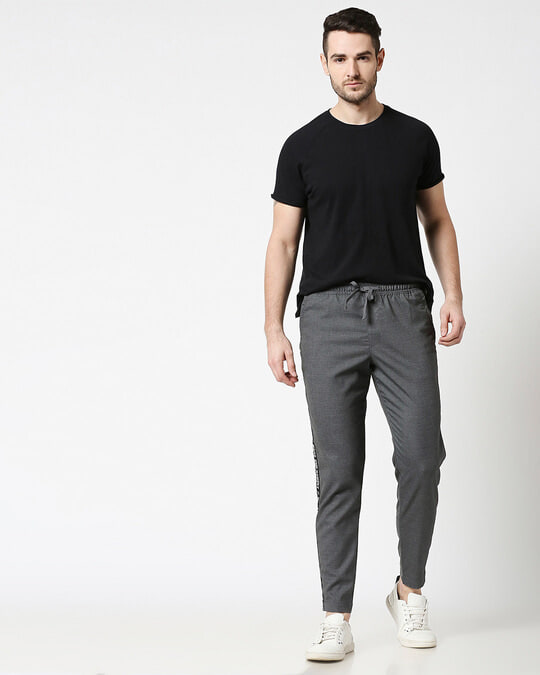 Shop Grey Men's Casual Jogger Pants