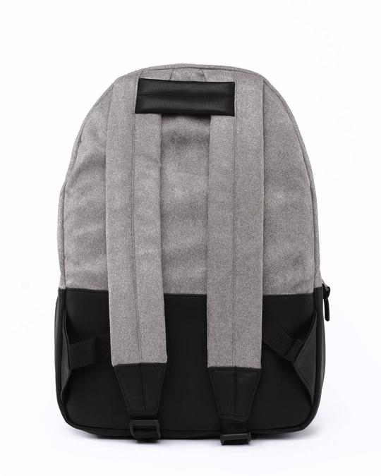 Shop Grey Suede Backpack-Full