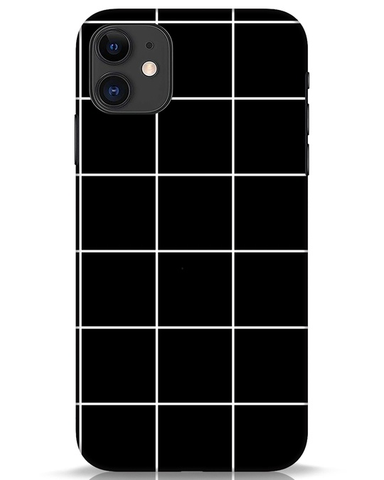 Shop Grid iPhone 11 Mobile Cover-Front