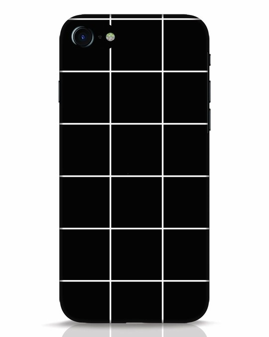Shop Grid iPhone 7 Mobile Cover-Front