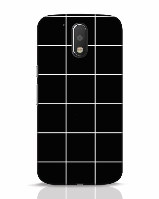 Shop Grid Moto G4 Plus Mobile Cover-Front