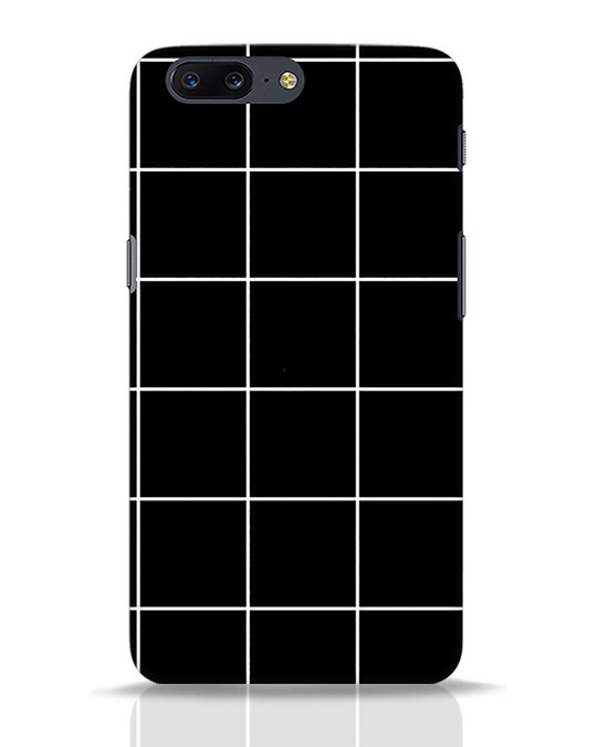 Shop Grid OnePlus 5 Mobile Cover-Front