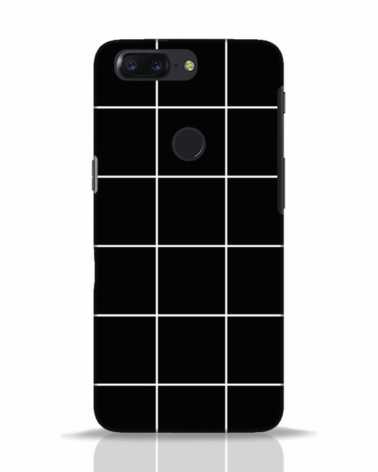 Shop Grid OnePlus 5T Mobile Cover-Front