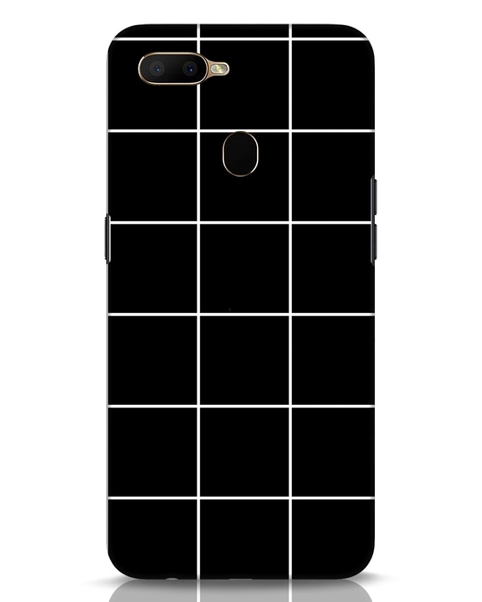 Shop Grid Oppo A5s Mobile Cover-Front