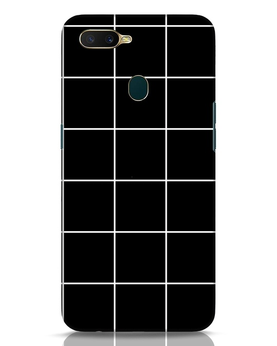 Shop Grid Oppo A7 Mobile Cover-Front
