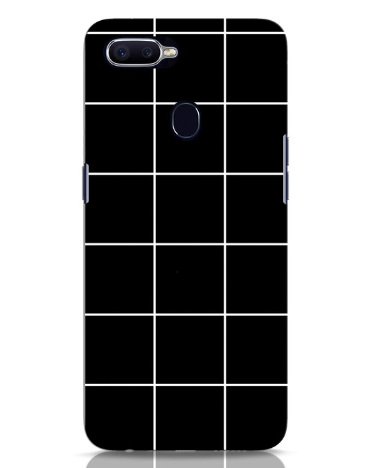 Shop Grid Oppo F9 Pro Mobile Cover-Front