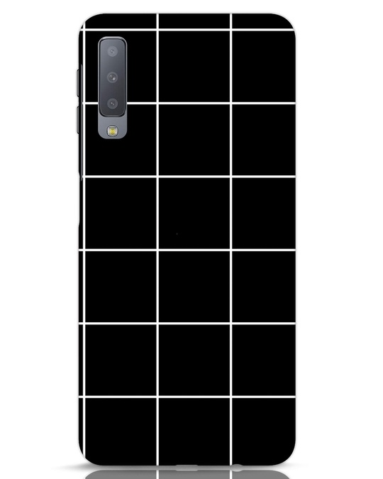 Shop Grid Samsung Galaxy A7 Mobile Cover-Front