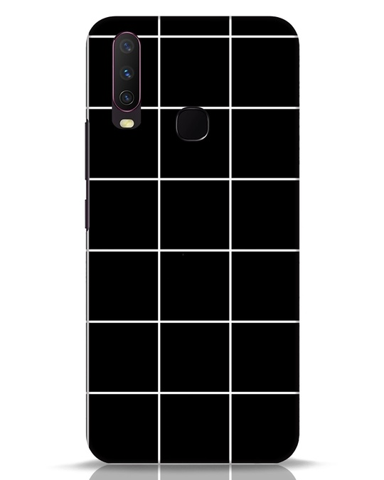 Shop Grid Vivo Y17 Mobile Cover-Front