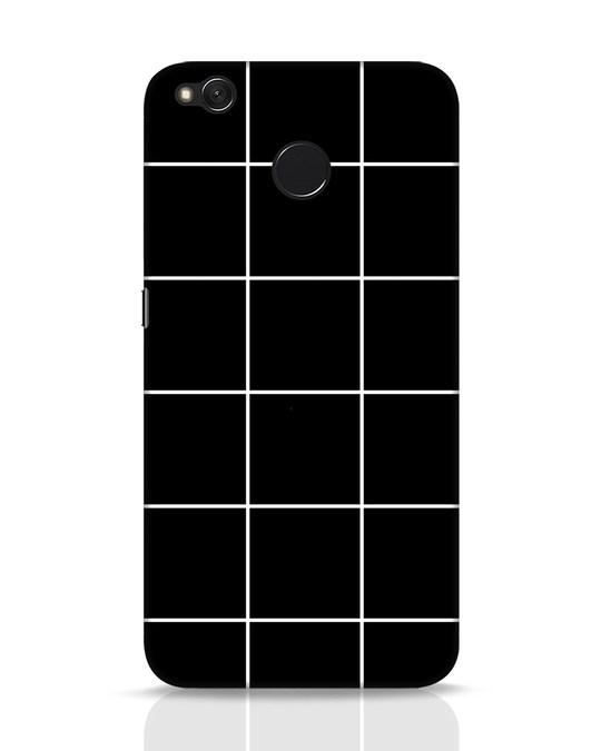Shop Grid Xiaomi Redmi 4 Mobile Cover-Front