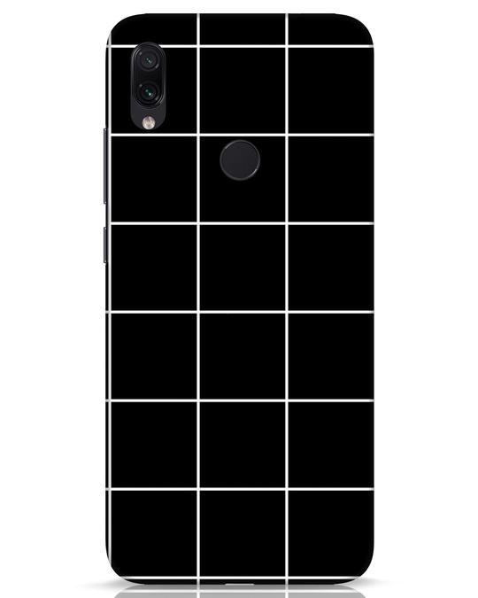 Shop Grid Xiaomi Redmi Note 7s Mobile Cover-Front