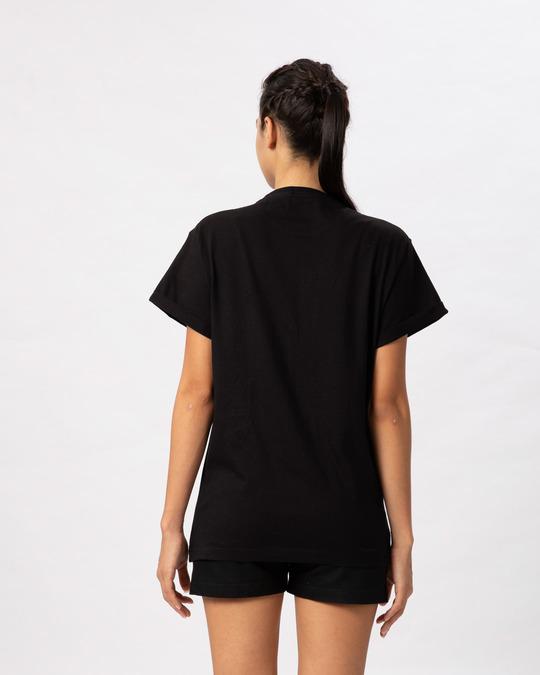 Shop Grill Light Batgirl Boyfriend T-Shirt (BML)-Back