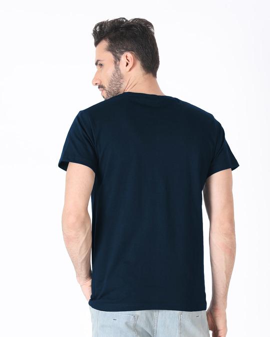 Shop Grim Pizza Half Sleeve T-Shirt-Full
