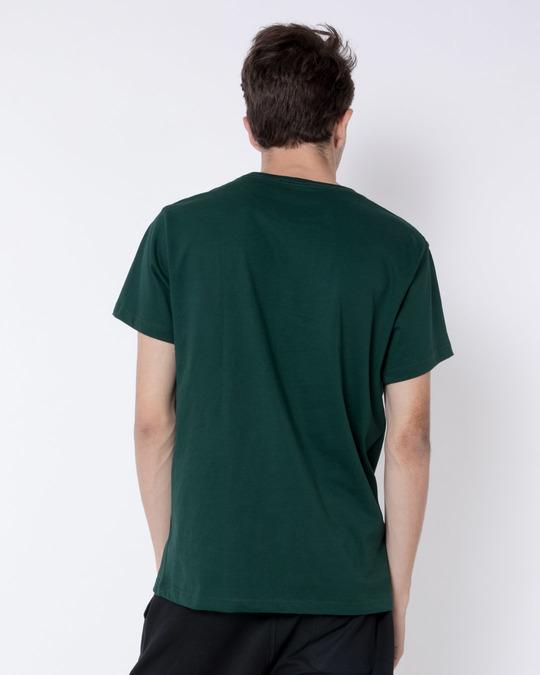 Shop Grim Pizza Half Sleeve T-Shirt