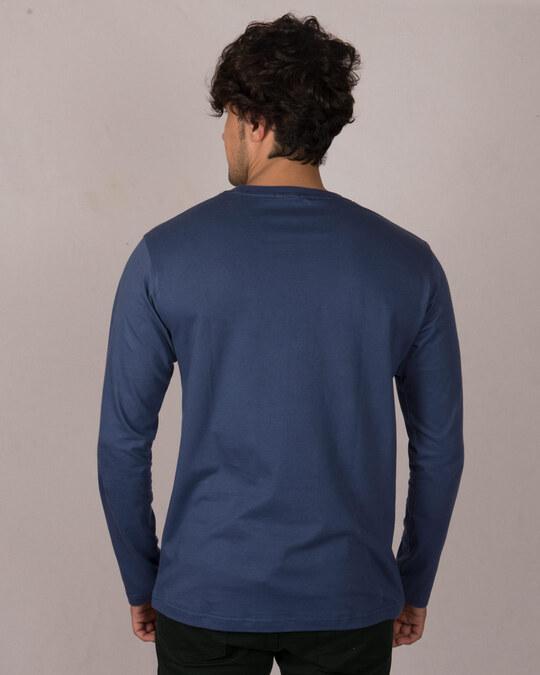 Shop Groot Face Full Sleeve T-Shirt (GOTGL)-Back