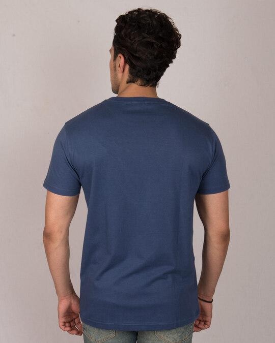 Shop Groot Face Half Sleeve T-Shirt (GOTGL)-Back