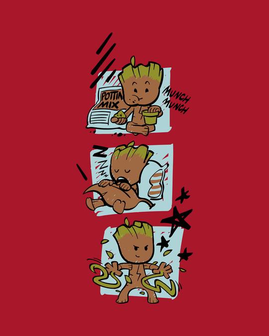 Shop Groot Munching Boyfriend T-Shirts (GOTGL)