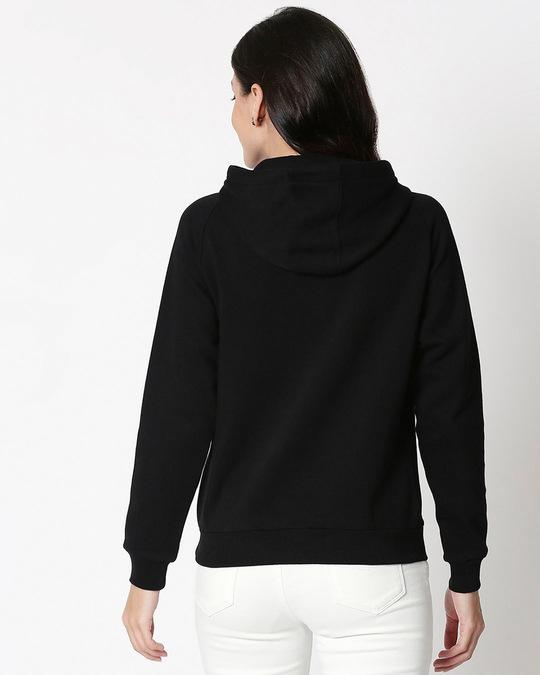 Shop Grow Positive Thoughts Sweatshirt Hoodie Black-Back