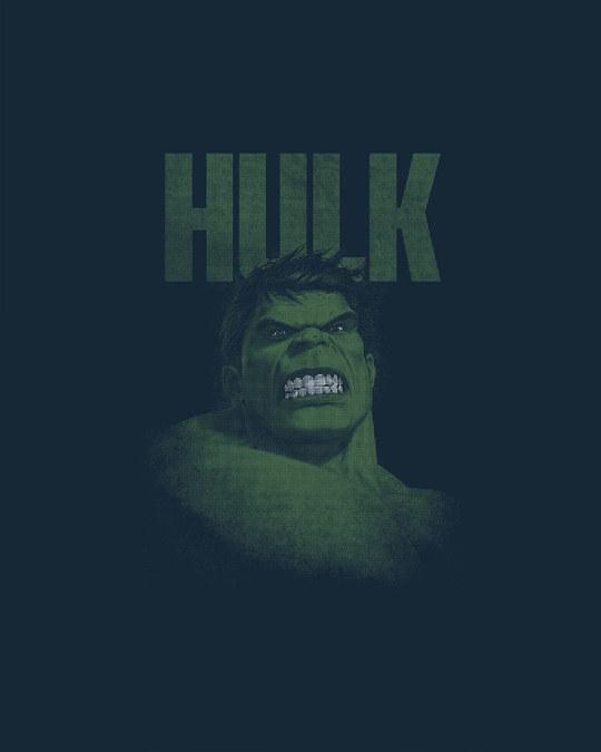 Shop Grunge Hulk Basic Round Hem T-Shirt (AVL)