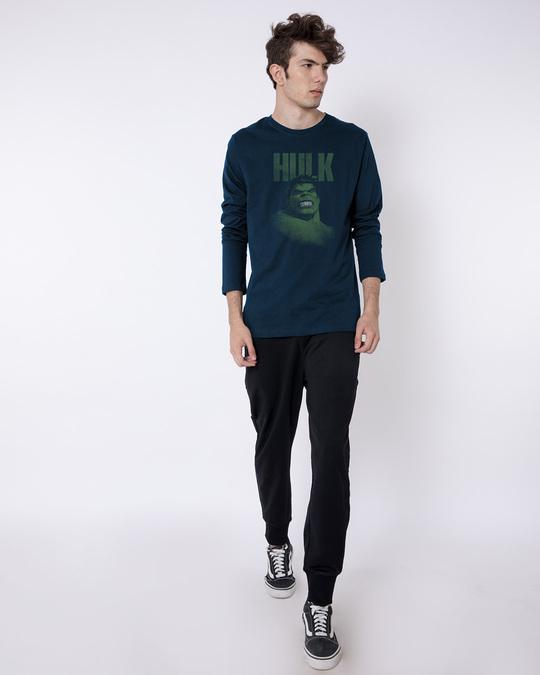 Shop Grunge Hulk Full Sleeve T-Shirt (AVL)