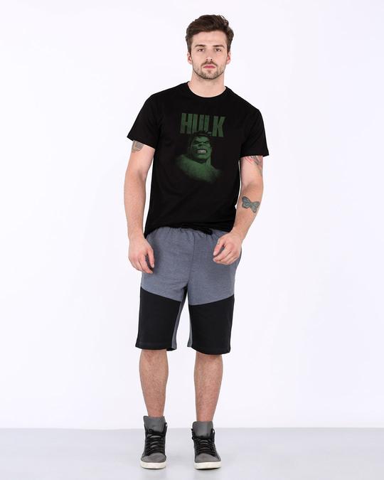 Shop Grunge Hulk Half Sleeve T-Shirt (AVL)