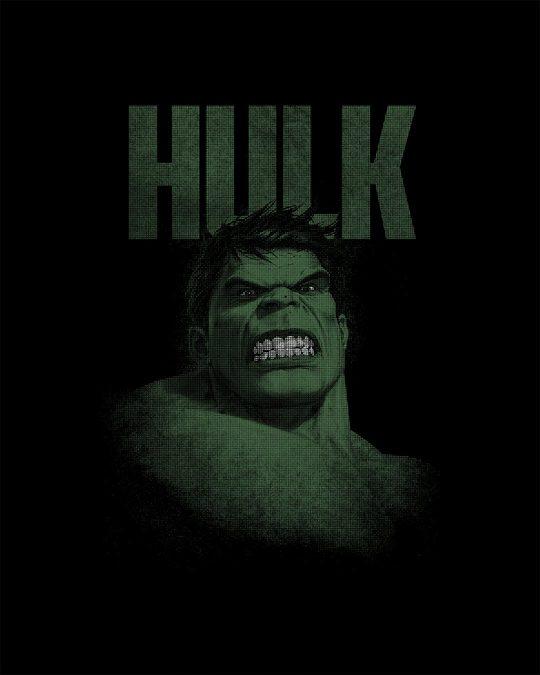 Shop Grunge Hulk Round Neck 3/4th Sleeve T-Shirt (AVL)