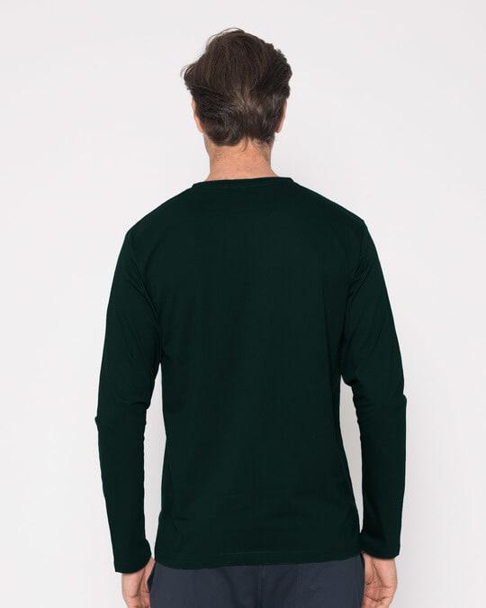 Shop Grunge Never Quit Full Sleeve T-Shirt-Full