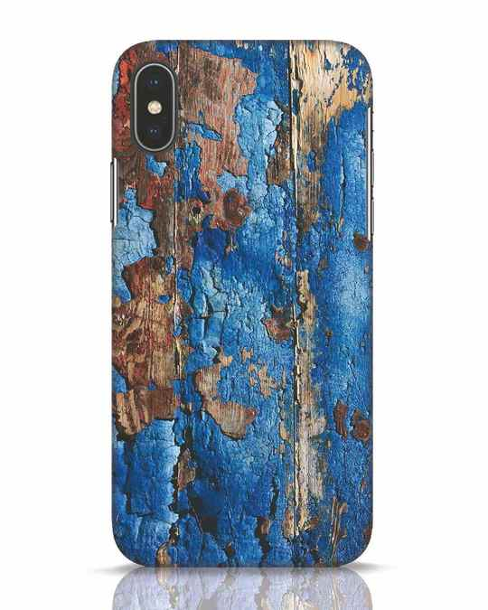 Shop Grunge Rugged iPhone X Mobile Cover-Front