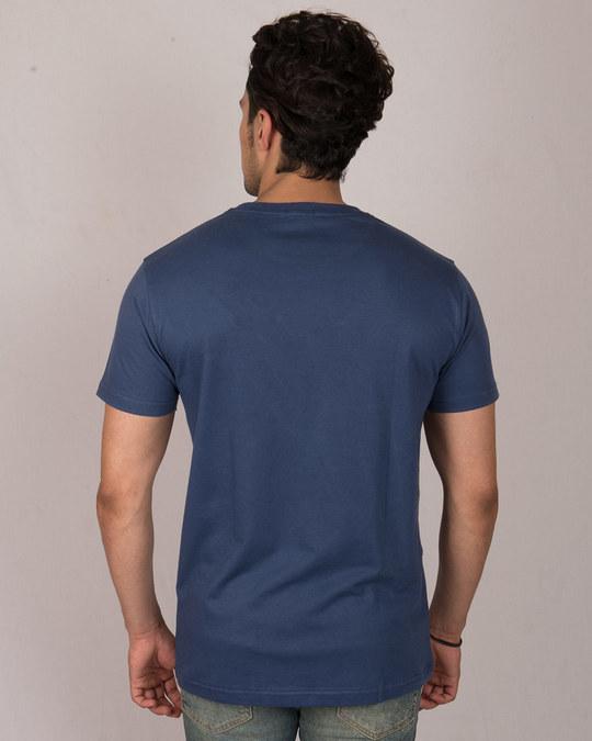 Shop Grunge Skull Logo Glow In Dark Half Sleeve T-Shirt -Design