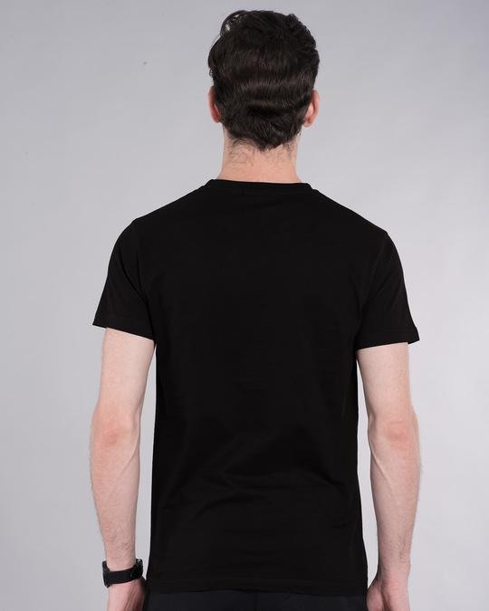 Shop Grunge Superman Glow In Dark Half Sleeve T-Shirt (SL) -Back