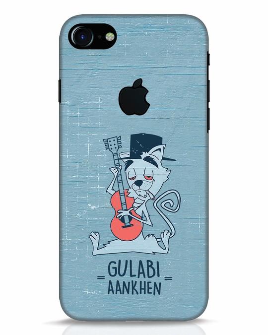 Shop Gulabi Aankhen iPhone 7 Logo Cut Mobile Cover-Front