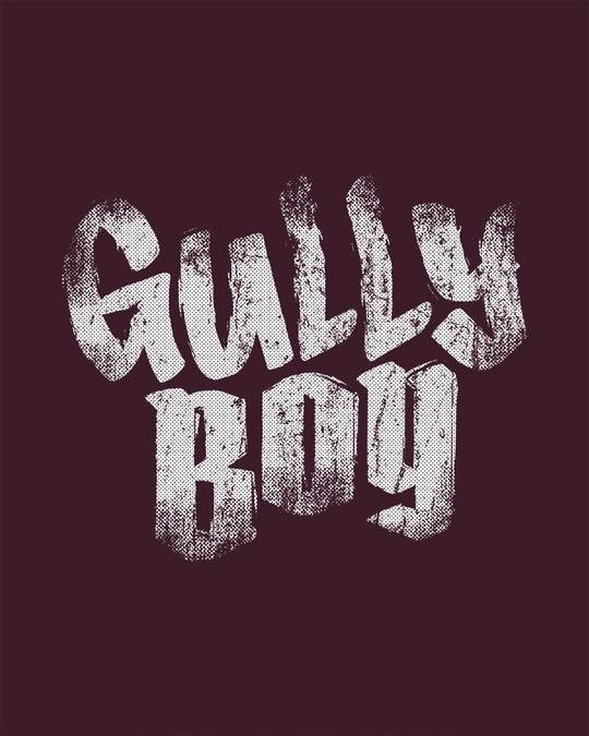 Shop Gully Boy Hip Hop Half Sleeve T-Shirt