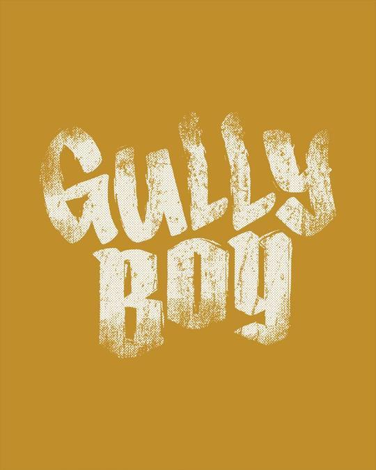 Shop Gully Boy Hip Hop Half Sleeve T-Shirt