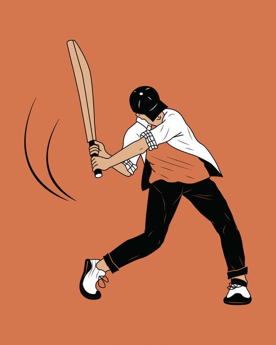 Shop Gully Cricket Full Sleeve T-Shirt