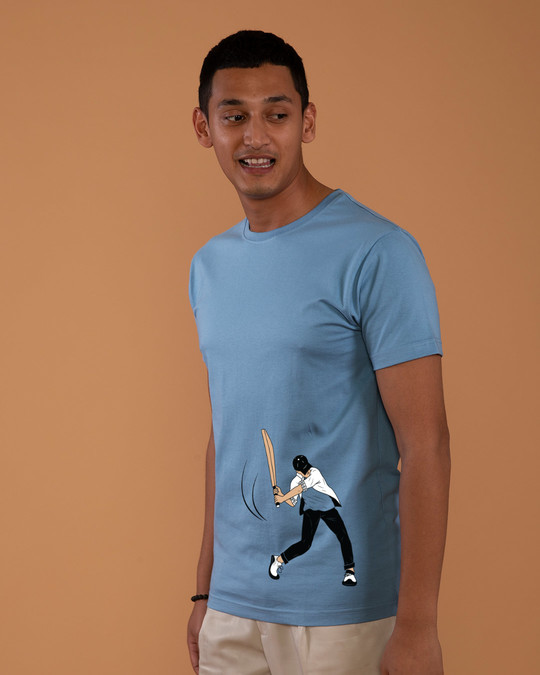 Shop Gully Cricket Half Sleeve T-Shirt-Full
