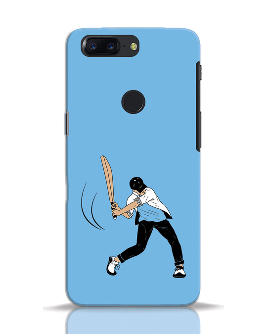 Shop Gully Cricket OnePlus 5T Mobile Cover-Front