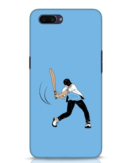 Shop Gully Cricket Oppo A3S Mobile Cover-Front