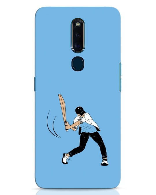 Shop Gully Cricket Oppo F11 Pro Mobile Cover-Front