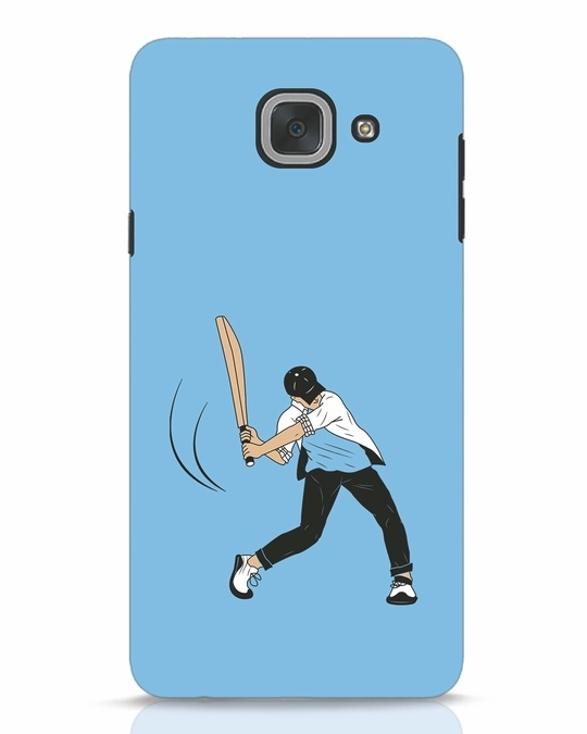 Shop Gully Cricket Samsung Galaxy J7 Max Mobile Cover-Front