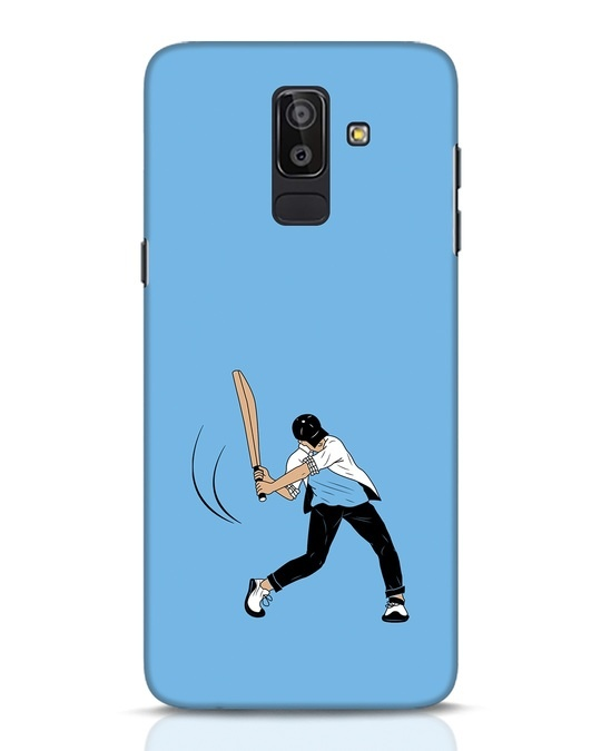 Shop Gully Cricket Samsung Galaxy J8 Mobile Cover-Front