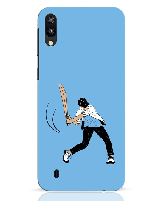 Shop Gully Cricket Samsung Galaxy M10 Mobile Cover-Front